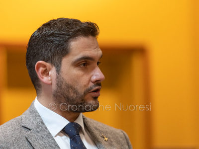 Il consigliere regionale Pierluigi Saiu (foto S.Novellu)