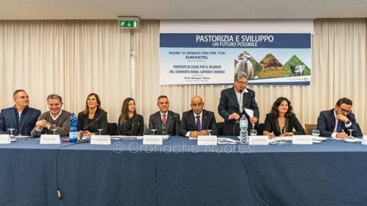 Il convegno Pastorizia e Sviluppo (foto S.Novellu)