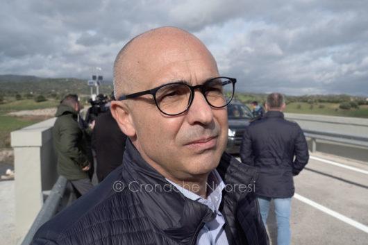 Il sindaco di Oliena Bastiano Congiu (foto S.Novellu)