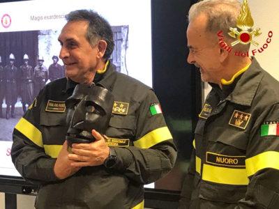 La visita del direttore regionale VVFF Antonio Angelo Porcu a Nuoro