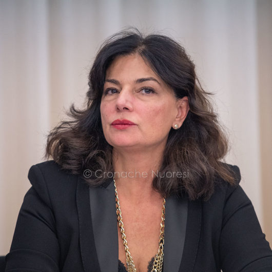 L'assessore all'Agricoltura Gabriella Murgia (foto S.Novellu)