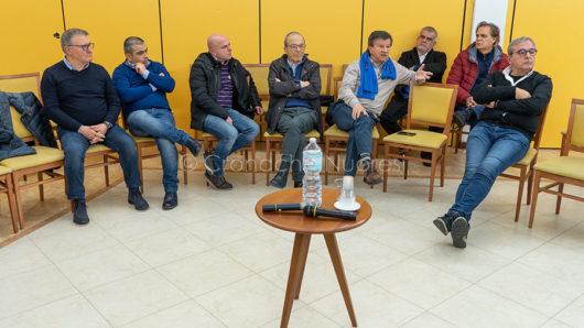 L'incontro PD all'Euro Hotel (foto S.Novellu)