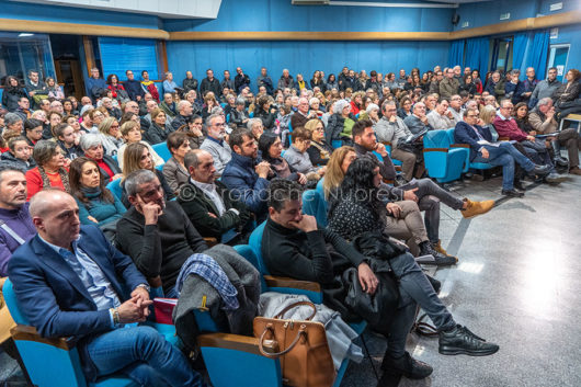 L'incontro di presentazione del progetto Nuoro 20-25 alla Satta (foto S.Novellu)