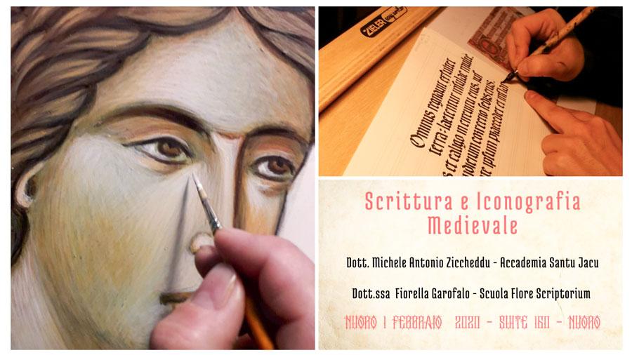 Manifesto scrittura e pittura medievale Suite 160
