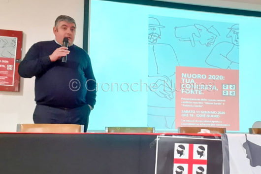 L'assessore regionale Sardista Quirico Sanna