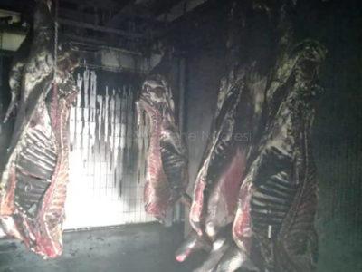 Carni danneggiate dal fumo da Milia a Bortigali