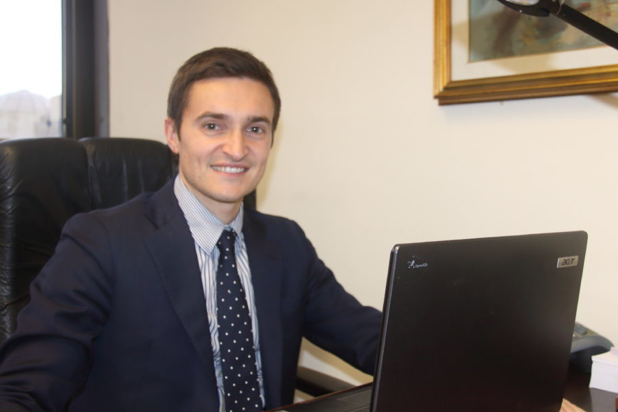 Il consigliere regionale Michele Ciusa