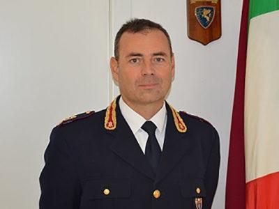 Il comandante della Polizia stradale di Nuoro Giacinto Mattera