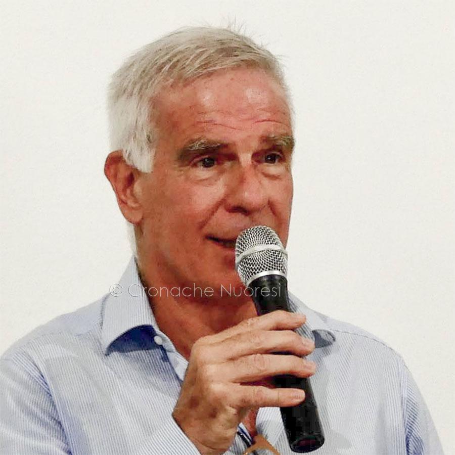 Il notaio e ex Presidente della Nuorese Roberto Goveani