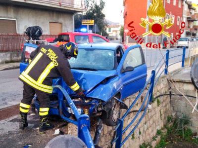 L'incidente avvenuto questa mattina a Lotzorai
