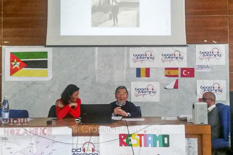 L'incontro al Liceo Sebastiano Satta con Flavio Coss