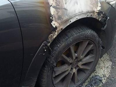 Bolotana, l'auto dell'ispettore della Forestale data alle fiamme