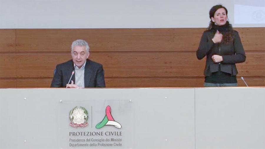 La conferenza stampa di oggi sulla diffusione del Coronavirus tenuta dal Dottor Arcuri