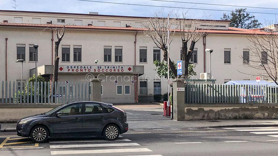 Cagliari, il pronto soccorso dell'ospedale SS Trinità (foto D.Meloni)