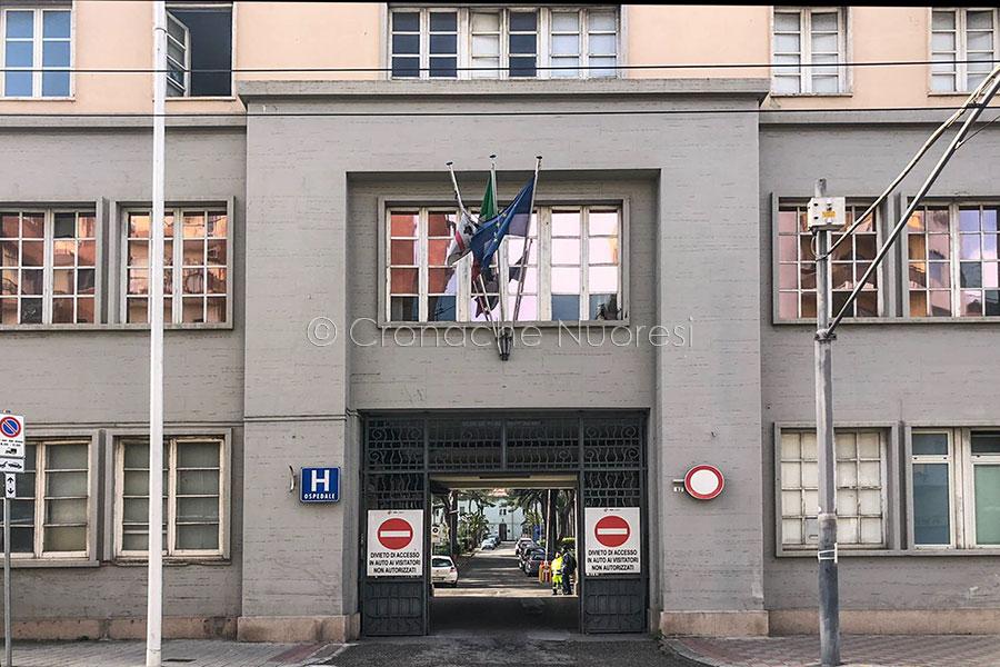 Cagliari, l'ospedale SS Trinità (foto D.Meloni)