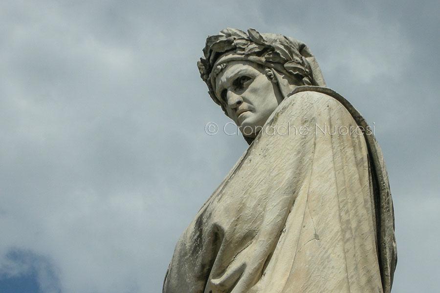 Firenze, monumento a Dante Alighieri a Santa Croce (foto S.Novellu)