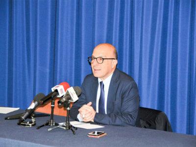 L'assessore alla Sanità Mario Nieddu