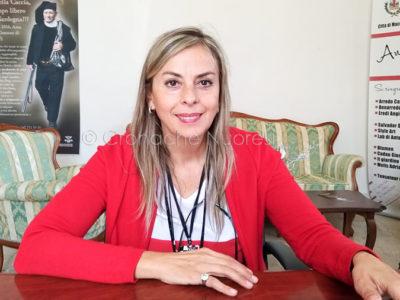 Il sindaco Rossana Ledda (F. P.G: Vacca