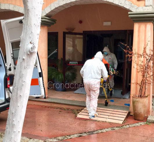 Il trasporto degli anziani della Casa di Bitti