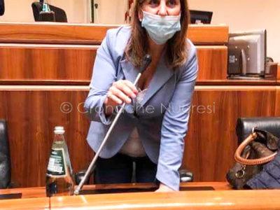 L'assessore al Lavoro Alessandra Zedda
