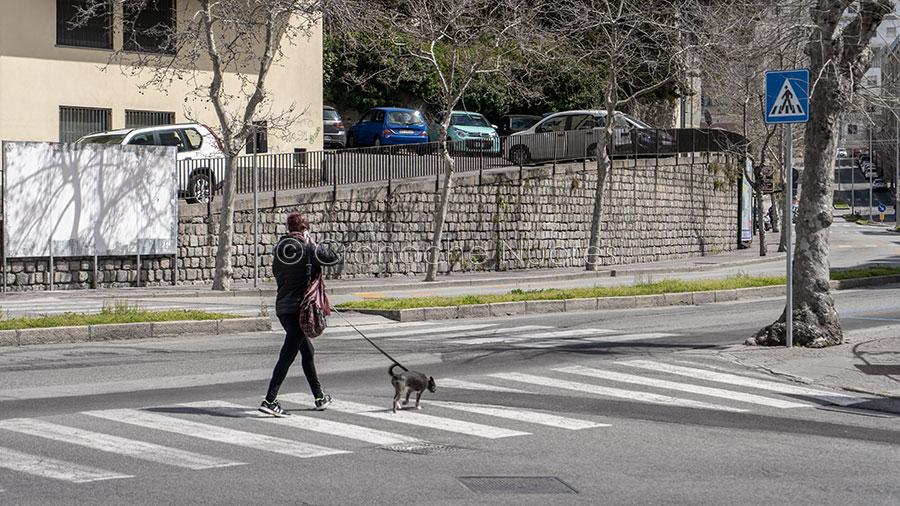 Nuoro, via Manzoni (foto S.Novellu)
