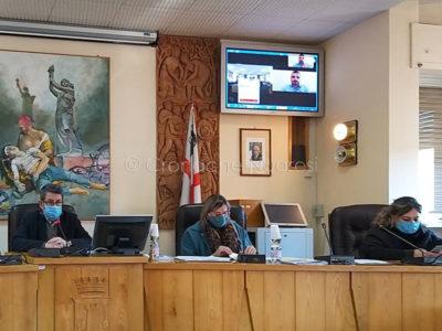 Seduta del Consiglio comunale di Macomer (foto PGV)