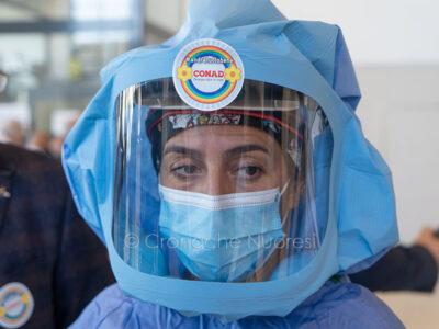 Coronavirus. Uno dei dispositivi donati dal Conad al San Francesco di Nuoro (foto S.Novellu)