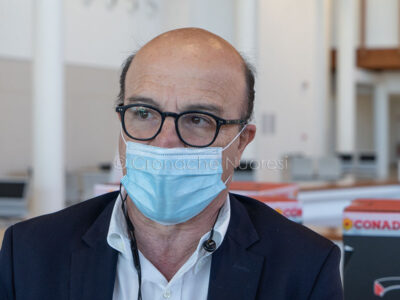 Coronavirus. La Giornata dell'infermiere al San Francesco di Nuoro (foto S.Novellu)