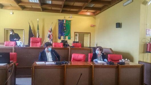 La riunione nella mattinata di oggi delle Partite IVA (f. S. Meloni)
