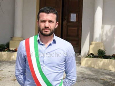 Il sindaco di Irgoli Ignazio Porcu