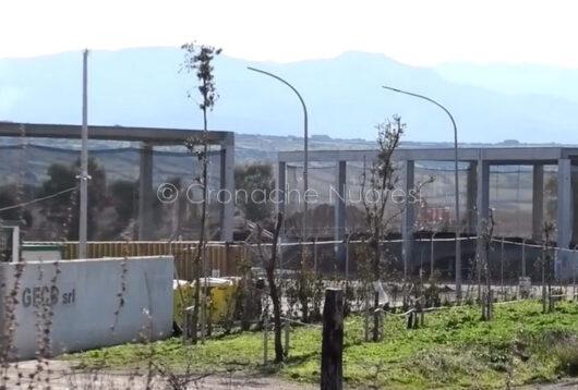 L'ingresso alla GECO di Magomadas (foto Cronache Nuoresi)