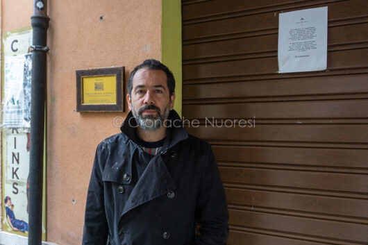 Nuoro, il presidente del Centro Commerciale Naturale Salvatore Piredda (foto S.Meloni)
