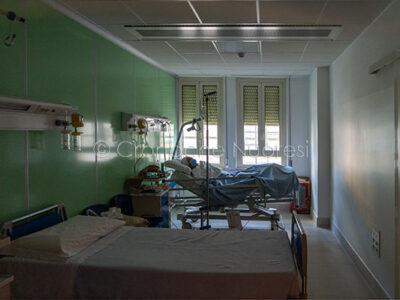 Nuoro, reparto Covid-19, le Malattie Infettive (© foto S.Novellu)
