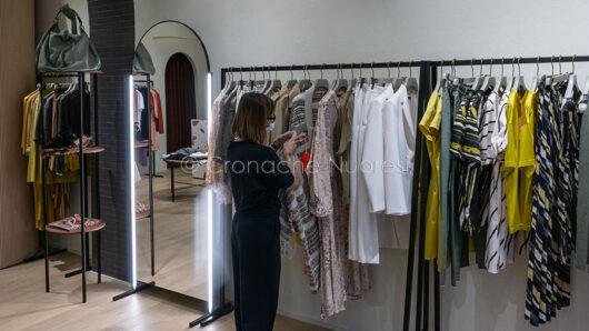 Nuoro, riaperture in Fase 3, abbigliamento (foto S.Meloni)