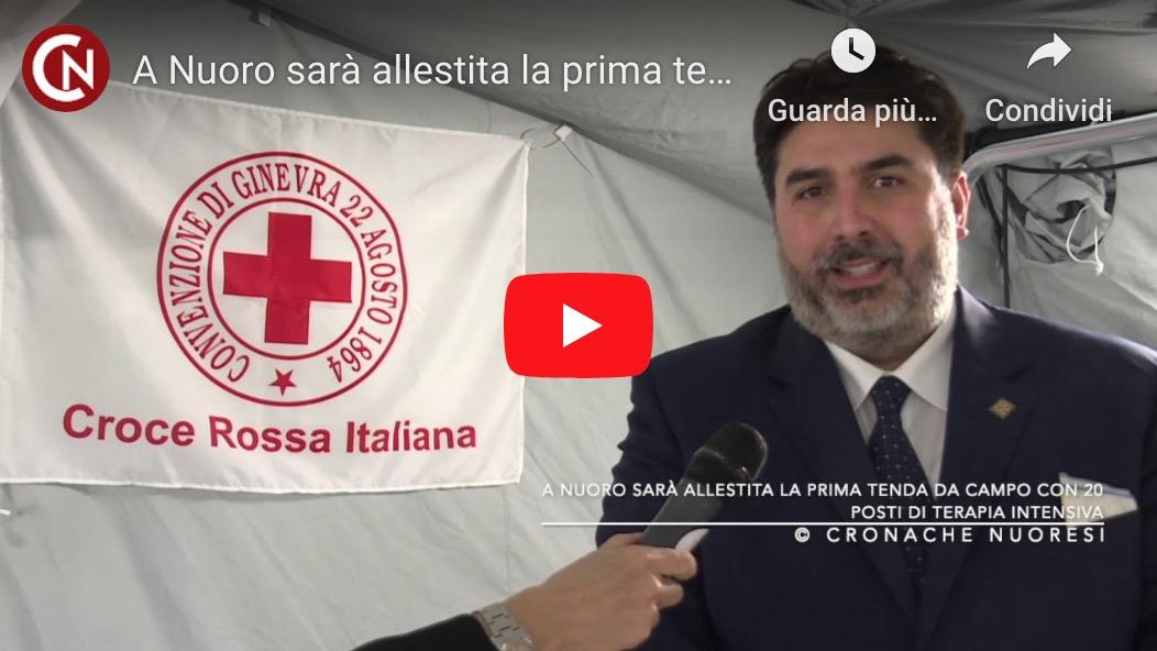 A Nuoro sarà allestita la prima tenda da campo con 20 posti di Terapia intensiva