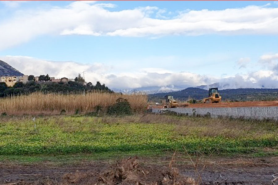 I lavori nel fiume Cedrino