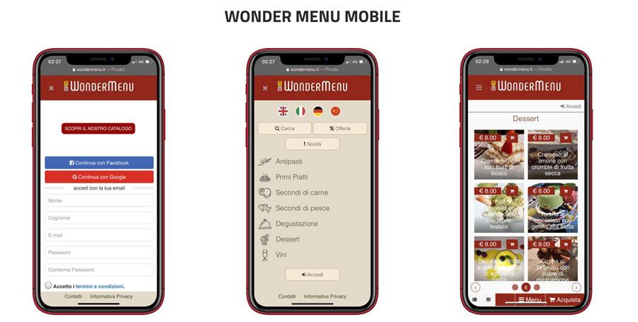 """Nasce """"Wonder Menu'"""": la comanda virtuale e gratuita per gli operatori del servizio ricettivo"""