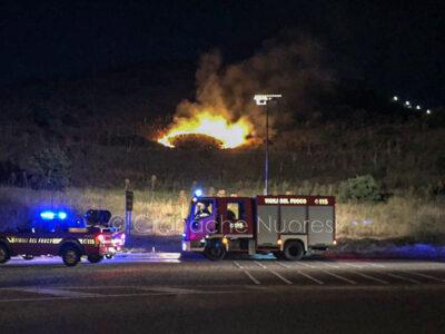 I Vigili del fuoco a Mughina