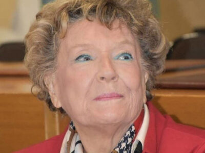 La scrittrice Dacia Maraini