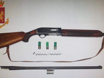 L'arma rinvenuta alla Caletta