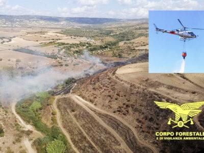 L'incendio a Oddini (Orani)