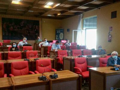 La seduta comunale di approvazione del piano di protezione Civile