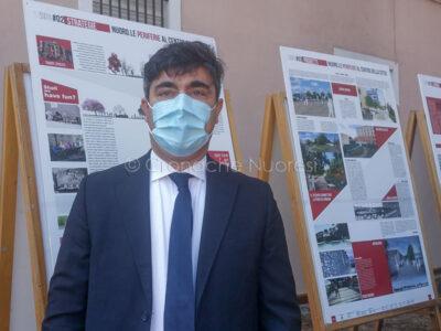 Il sindaco di Nuoro Andrea Soddu all'Ex Artiglieria (foto S.Meloni)