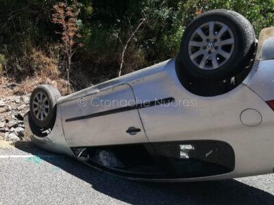 La Volkswagen dopo l'incidente