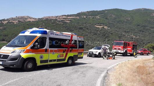 La scena della tragedia a Gadoni