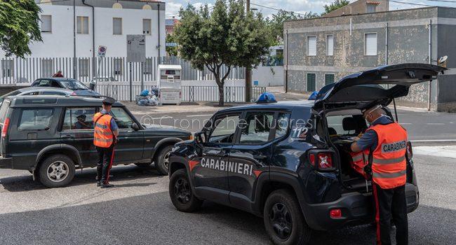 Orgosolo. Controlli dei Carabinieri durante la fuga di Mesina (© foto S.Novellu)