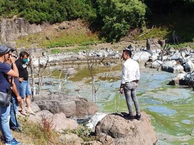Sopralluogo sul lago Omodeo