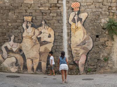 Turisti a Orgosolo (foto S.Novellu)