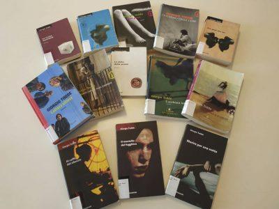 I romanzi di Giorgio Todde (f. Biblioteca Satta Nuoro)