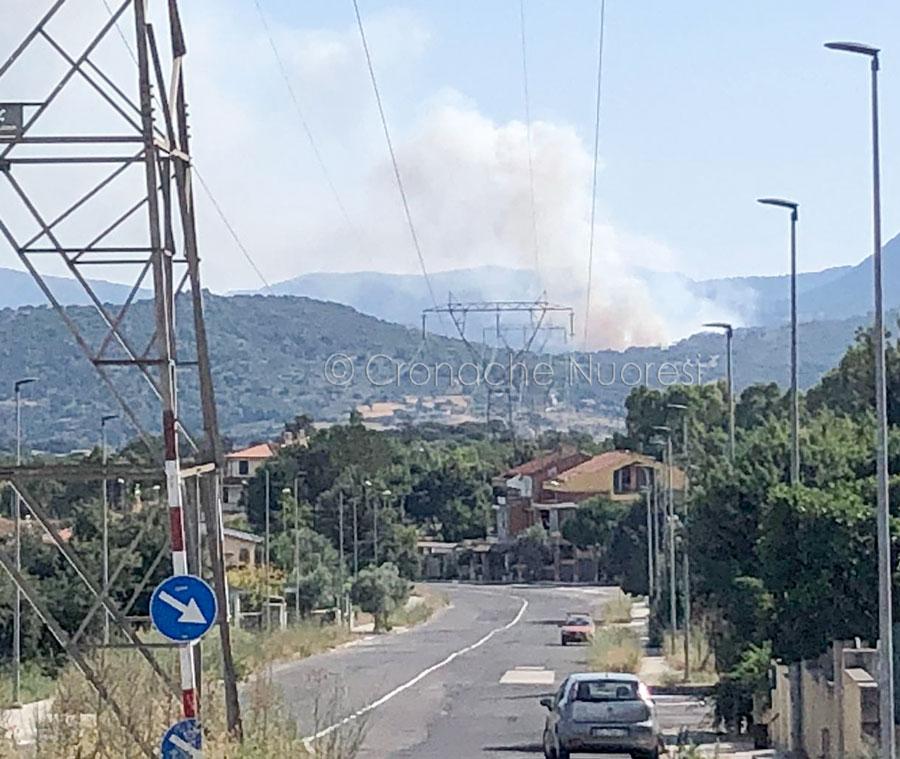 L'incendio visto da città giardino
